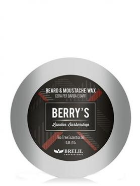 Brelil Berry's Воск для бороды и усов