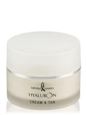 Individual Cosmetics Hyaluron + Крем с эффектом автозагара