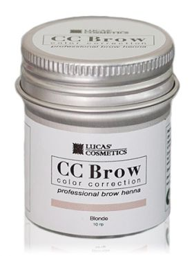CC Brow Blonde Хна для бровей СС в баночке русая