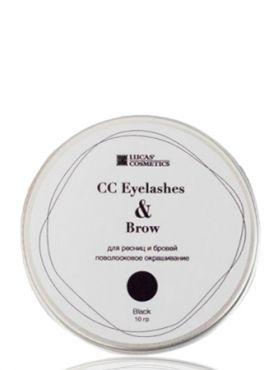 CC Brow Eyelashes Brow Black Хна для ресниц и бровей черная