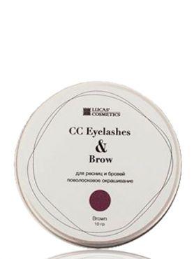 CC Brow Eyelashes Brow Brown Хна для ресниц и бровей коричневая