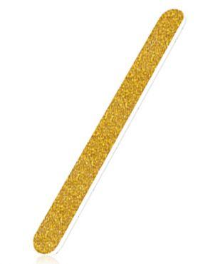 Inm Пилка для ногтей золотая моющаяся 80-80
