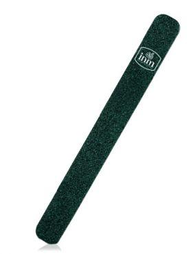 Inm Пилка для ногтей черная на деревянной основе 120-120