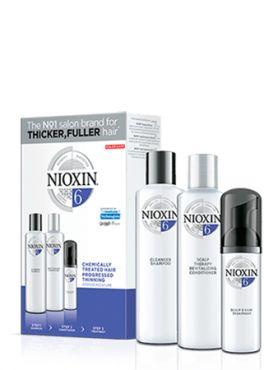 NIOXIN 3D Система 6 для химобработанных волос XXL-формата new